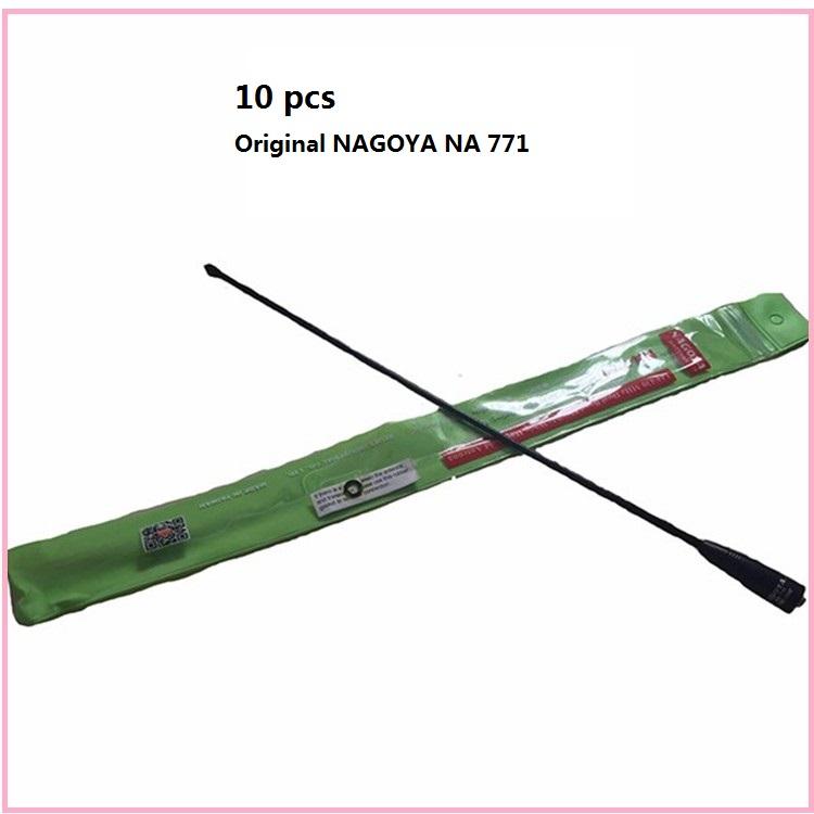 10pcs Original nagoya na-771 SMA Female 144 430Mhz Dual Band Antenna For two way radio Baofeng UV-5R uv82 TK-3107 PX-777 antenna(China (Mainland))
