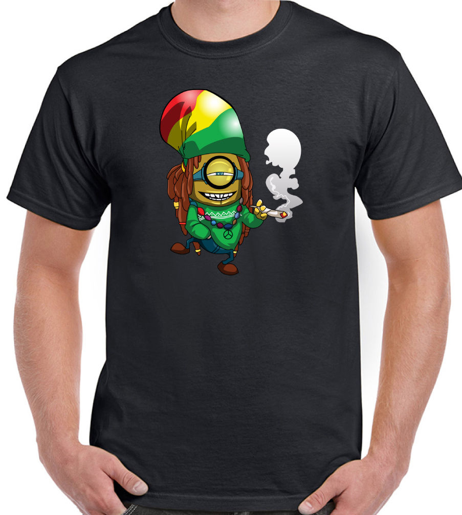 New arrival men 39 s t shirt minions despicable me funny for Graphic designs for t shirts