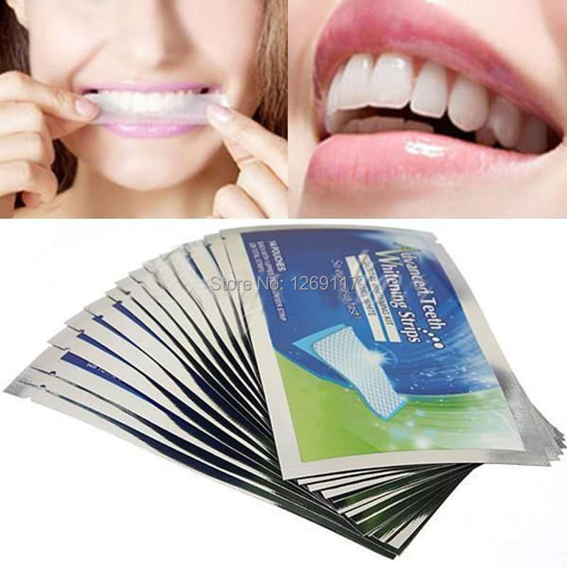 1Pack 28pcs Teeth Whitening Strips Professional tooth whitening products Gel Strips With Free Shipping 6216 1AxLx
