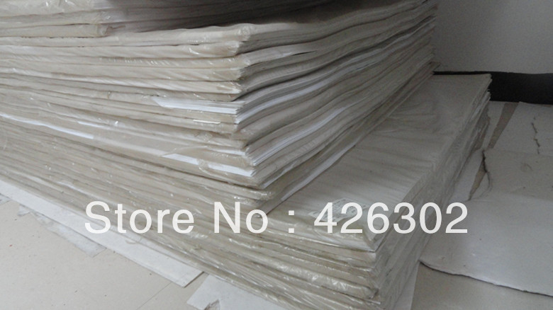 Sale0.3MM PVC plastic film with 1 size protective film from dust and dirts ,color  white matt, for making printing and card,tags