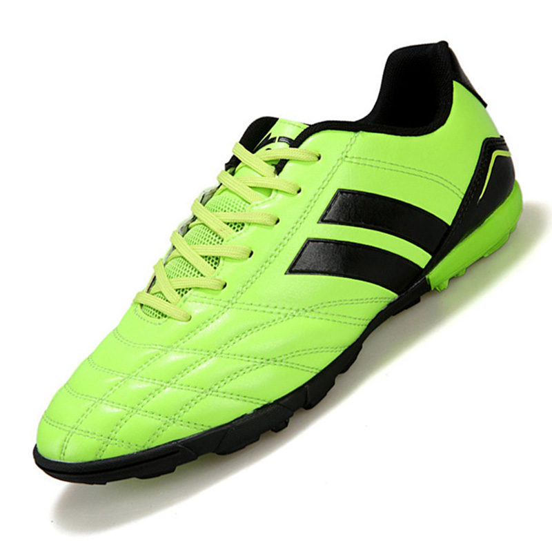 Size 33-44 Hard Count TF Men Soccer Shoes Football Boots Adults Boy Kid Trainers Sports Sneakers Shoes Soccer Cleats Shoes NX530(China (Mainland))