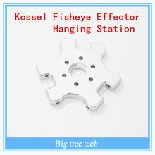 Kossel mini 3D printer accessories aluminum Metal M4 delta Kossel fisheye effector hanging station 4MM