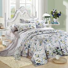 Bedroom Textile 4pcs Cherry blossoms Beding Sheet Bedspread Duvet Cover Comforter Decor Bedding Set Housse de Couette Kumas(China (Mainland))