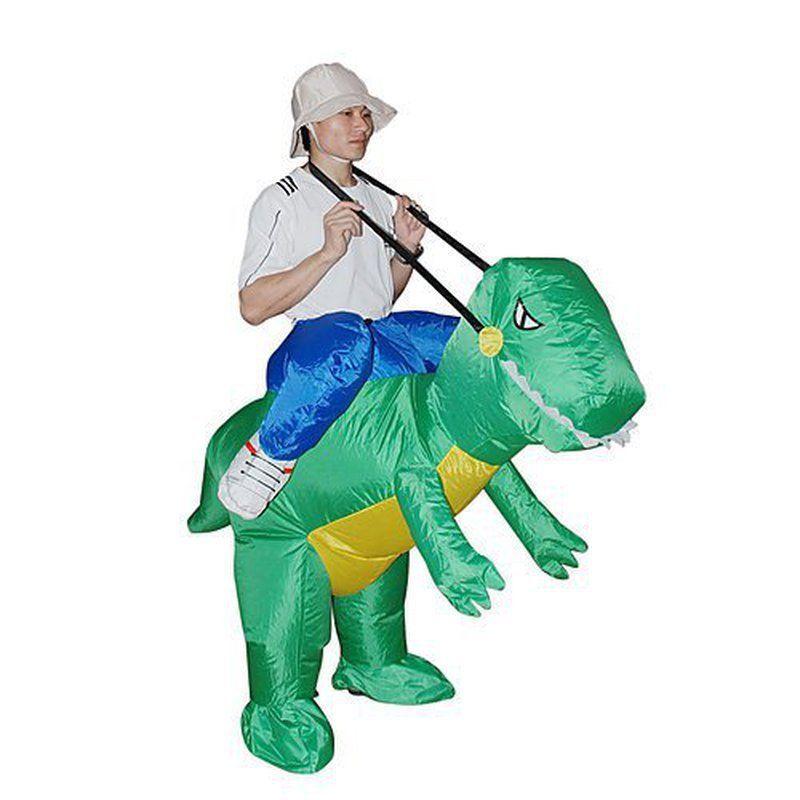 photo déguisement homme dinosaure