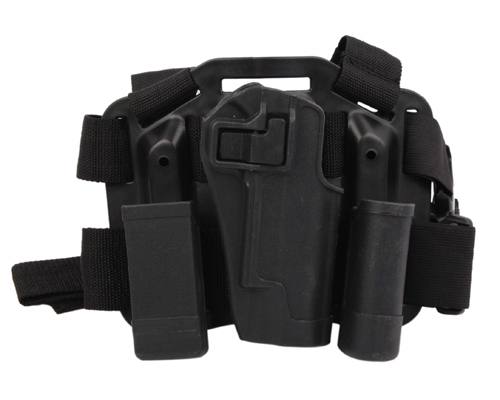 2pcs/lot BH CQC Holster Set With Platform Loops Magazine Pouch for 1911 Drop Leg Holster Hunting Shooting Airsoft Tactical Black<br><br>Aliexpress