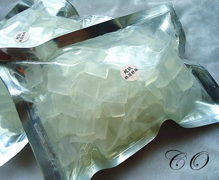 Hot Selling 250g/bag Transparent Soap Base DIY Handmade Soap Raw Materials Soap Base(China (Mainland))