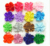 "2.3"" Classical Pure Color Flower Head Without Clips single cluster flowers DIY flowers 16 Colors Mixed 150 Pcs Free Shipping"