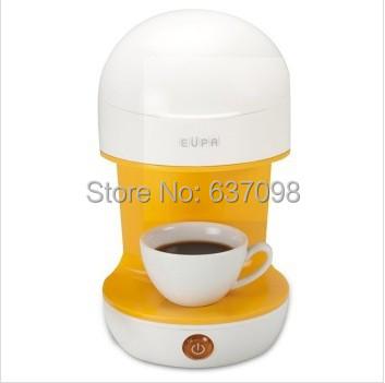 chinaEUPA TSK-1981C personal tea drip Coffee machine maker Classic Cafe Americano pot 0.5L TEA 220V household make tea(China (Mainland))