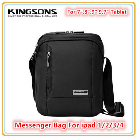 Hot Brand Messenger Bag ipad 1/2/3/4, 7 inch,8 inch,9 inch.10 inch Tablet Mid Black Case, Free Drop Shipping. KS3024 - Ai-Green Store store