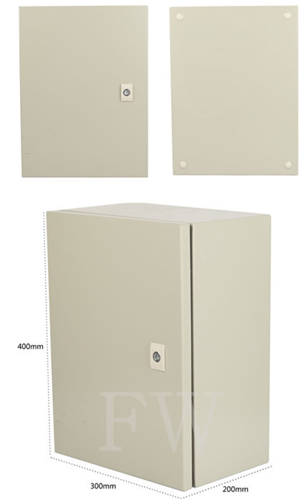 Chassis cabinets power distribution box housing boxes enclosure 400*300*200mm(China (Mainland))
