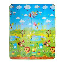 180*150cm Play Mat Forest River Cartoon Baby Play Mat Tapete Bebe Crawling Mat Soft Floor Pad Game Pad Picnic Carpet(China (Mainland))