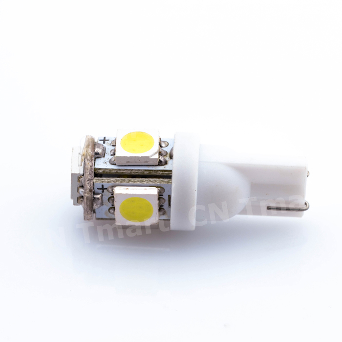 10x White 360 Degree 5050 SMD 168 194 2825 w5w T10 LED Car Led Light Bulbs For Parking led License Plate Lights NEW(China (Mainland))