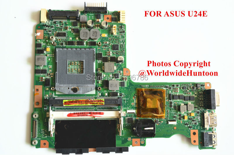 Original laptop motherboard for asus U24E motherboard Intel PGA988B DDR3 Integrated fully test(China (Mainland))
