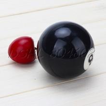 Black America Pocket Pool Billiard 8# Ball Replacement Regular Size  (China (Mainland))