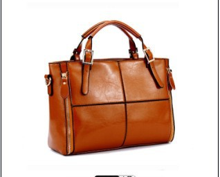 Free shipping Loss clearance stitching Genuine real cow leather handbags new fashion woman tote bag lady shoulder office bag