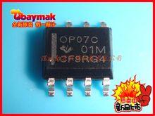(50pcs/lot) OP07CDR OP07C SOP8 IC high quality new low drift operational amplifier(China (Mainland))