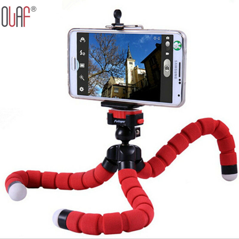Hot Car Phone Holder Stand Mini Flexible Octopus Gorillapod Tripod For iPhone Samsung Xiaomi Camera Mobile Phone Tablet Holder(China (Mainland))
