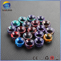 Sailing epoxy resin drip tips top cap wide bore for Kennedy 24 BATTLE CAP atomizer chuff