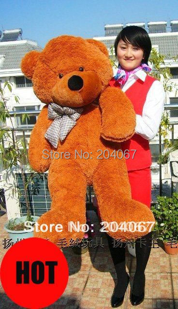 Lovely Teddy Bear Plush Toys 120cm Size 2014 Hot Selling High Quality Buyer Recommend gift colors to chsoe frees hipping(China (Mainland))