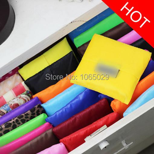 9235 Reusable Foldable Shopping Tote Eco Friendly Beach Grocery Bag Fashion(China (Mainland))