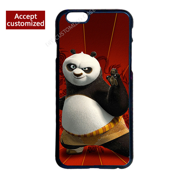Cute Kung Fu Panda Hard Back Cover Case for iPhone 4 4S 5 5S 5C 6 6S 7 Plus iPod Touch 4 5 6 LG G2 G3 G4(China (Mainland))