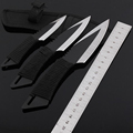 Jeslon 3 in 1 Knife Tactical Fixed Blade Knife Survival Outdoor Camping Knives Stainless Steel Tactical