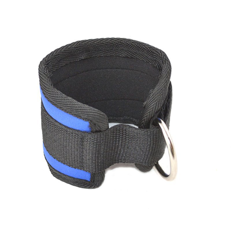 Ankle Weights Black Black Blue Ankle Anchor Strap