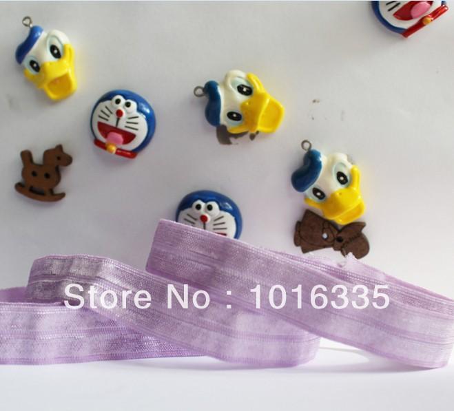 2014 new arrival 16mm Headband Hood Stretch Ribbon Hairband Elastic 50 Yards Wholesale(China (Mainland))