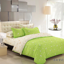 Jogo De Cama Time-limited None Quality 100% Bamboo Fiber Sabanas 2015 The New Family Of Four Bedding Textile Aloe Tencel Denim (China (Mainland))