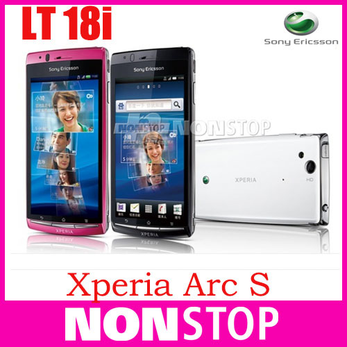LT18 Original Sony Xperia Arc S LT18i Mobile Phone 3G WIFI A-GPS 4.2 TouchScreen 8MP Camera(China (Mainland))