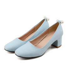 Pumps Matte New Shoes Woman small yards 31 32 33 Large size 44 43 42 41 40 High Heel 5.5CM EUR Size 30-45 - Emma's Fashion Women shoes store