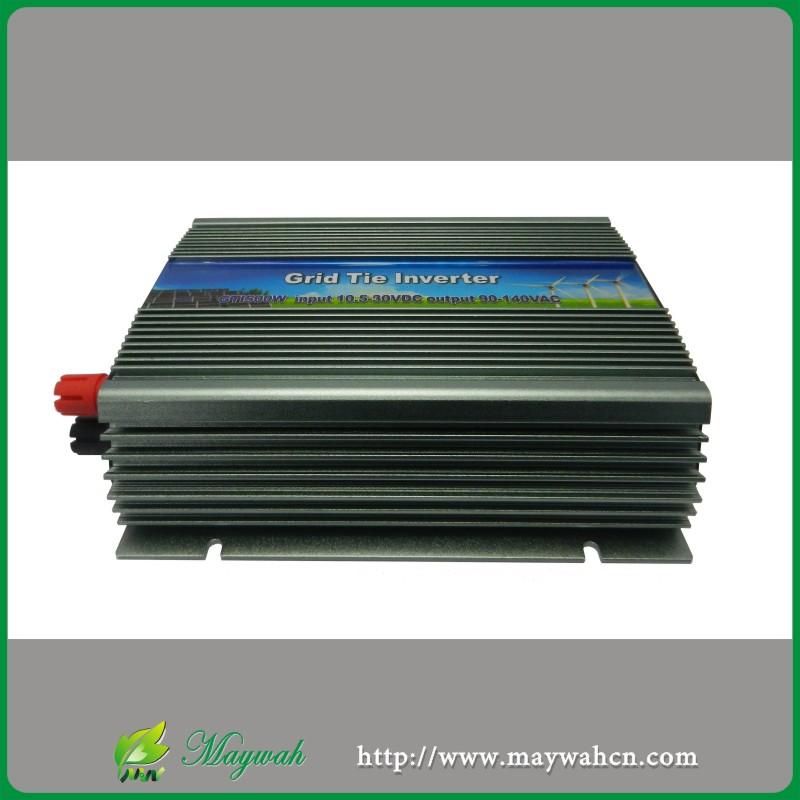 Input22-60VDC,600W Grid Tie Pure Sine Wave Inverter Power inverter,Output90-140VAC,50Hz/60Hz For Solar System(China (Mainland))