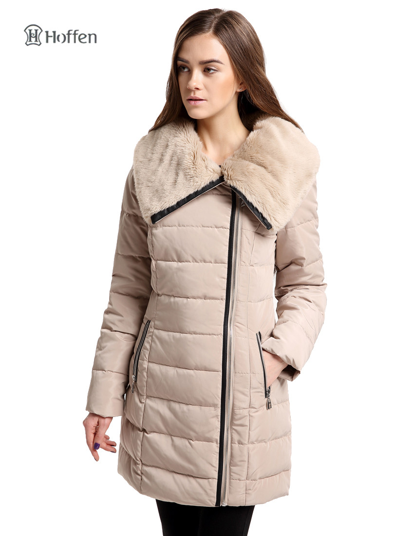 Hoffen hot sell women winter jacket duck down coat faux fur collar slim fit women's down parka coat thick warm parkas Jacket(China (Mainland))