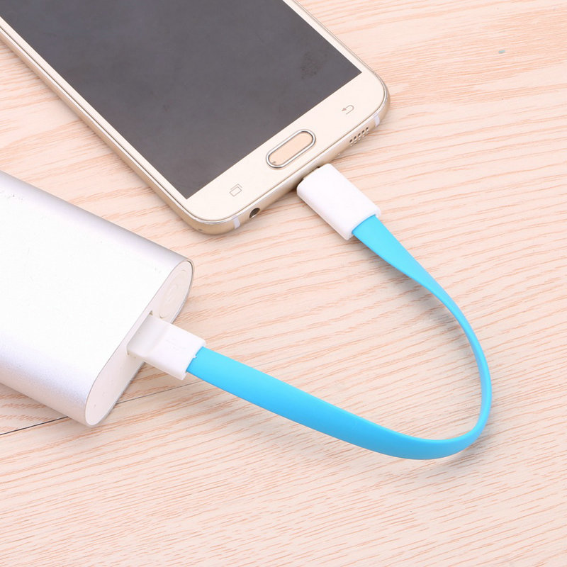 20cm Micro USB Sync Data Cord For Android Samsung HTC Sony LG Huawei and Tablet Magnetic Cable Fast Charging Flot Noodle Cables(China (Mainland))
