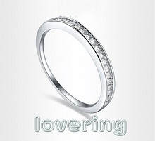 Victoria Wieck Valentine essential Jewellery 18K White gold GF White Topaz Diamonique wedding Ring Size 6,7,8 ,9 free shipping(China (Mainland))