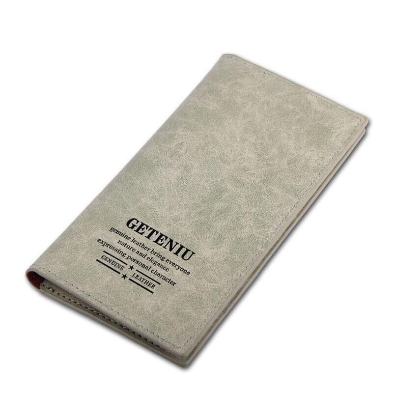 2015 unisex mens genuine leather bag, Waterproof Cowhide long Wallets , H-017 scratch-resistant oxhide purse  card holder<br><br>Aliexpress