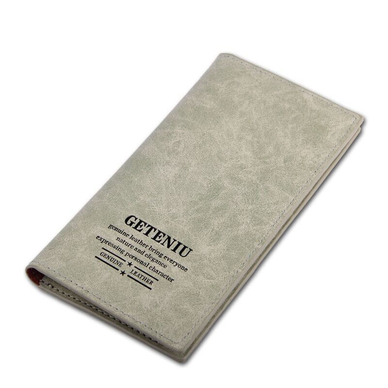 Hot sale Genuine leather Wallets, 5 colors unisex oxhide purse card holder,men's or women's Waterproof Cowhide long Wallets(China (Mainland))