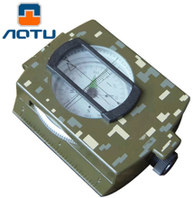 Buy AOTU Professional compass Military Army Geology Compass Sighting Luminous Compass Outdoor Hiking Camping 333 for $13.11 in AliExpress store