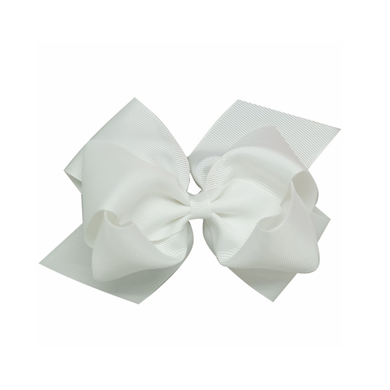 """Fashion 6"""" Large Hair Bows With Clips For Childrens Handmade Grosgrain Ribbon Hairbow Baby Hair Bow Accessories 20 Colors(China (Mainland))"""
