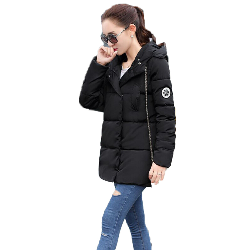 Snow Wear Wadded Jacket Female 2015 New Women'S Winter Coat Jacket Winter Coat Female Korean Slim Women DY457