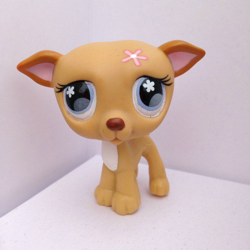 Pet Shop Animal Doll LPS Figure Child Toy Gril Dog DWA112(China (Mainland))