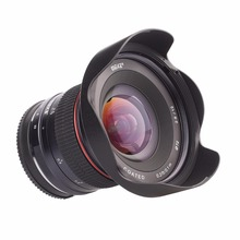 Buy Meike 12mm f/2.8 Ultra Wide Angle Fixed Lens Removeable Hood Canon EF-M mount cameras for $202.39 in AliExpress store