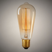 St64 110v 220v 40w glühlampe antiken retro edison-birne filament edison pendelleuchte Jahrgang glaskolben für kronleuchter(China (Mainland))