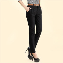 Buy Free Summer Autumn Plus Size Pencil Harem Pants Women Fashion OL Casual pant Western-Style Trousers Work Pant capris for $13.58 in AliExpress store