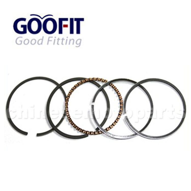 motorcycle Piston Ring Set for GY6 50cc Moped High quality classic piston ring K082-011(China (Mainland))
