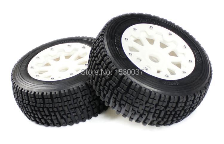 1/5 Scale RC KM RV HPI Baja 5SC Buggy high-strength nylon Rear wheel X 2 tire assembly