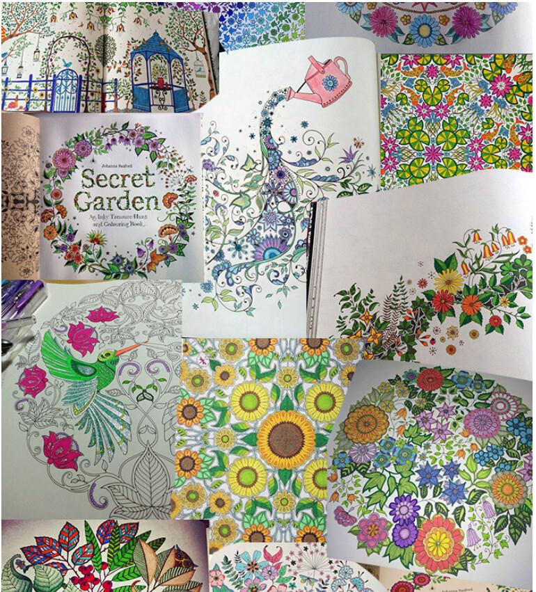 Buy Secret Garden Coloring Book For Children Adult Relieve Stress