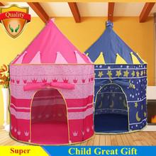 Ребенок подарок промотирования милые дети дети играют палатка игра дом большой принцесса и принц замок дворец детские игрушки палатки(China (Mainland))