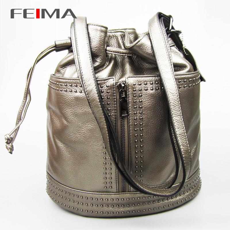 New 2015 High Quality Designer Brand Patchwork Women Backpacks Women's Genuine Leather Backpack Travel bag School Backpack