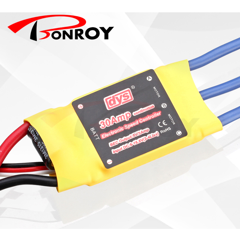 DYS 30030 30A Sensored Brushless Motor Speed Controller for MultiCopter Quad-rotor(China (Mainland))